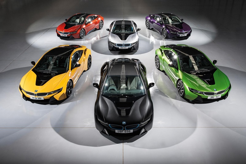 Bmw I8 Don T Be Blue Choose Almost Any Hue Cbvc