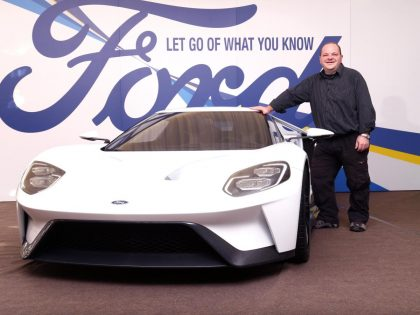 The new Ford GT is it Andrew's new Company Car?