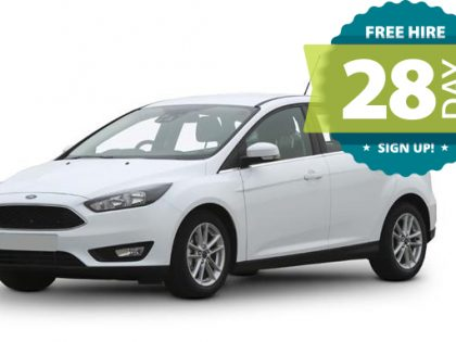 Free hire car for 28 days!