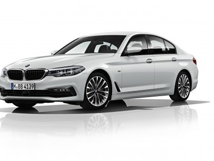 New tax efficient BMW 520d SE EfficientDynamics model launches March