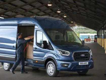 New 2-tonne Ford Transit