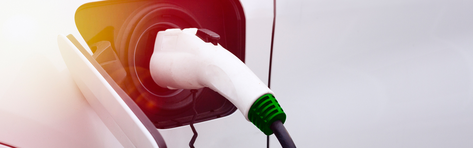 charging an electric fleet car