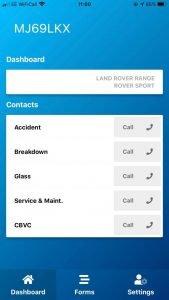 driver app - services