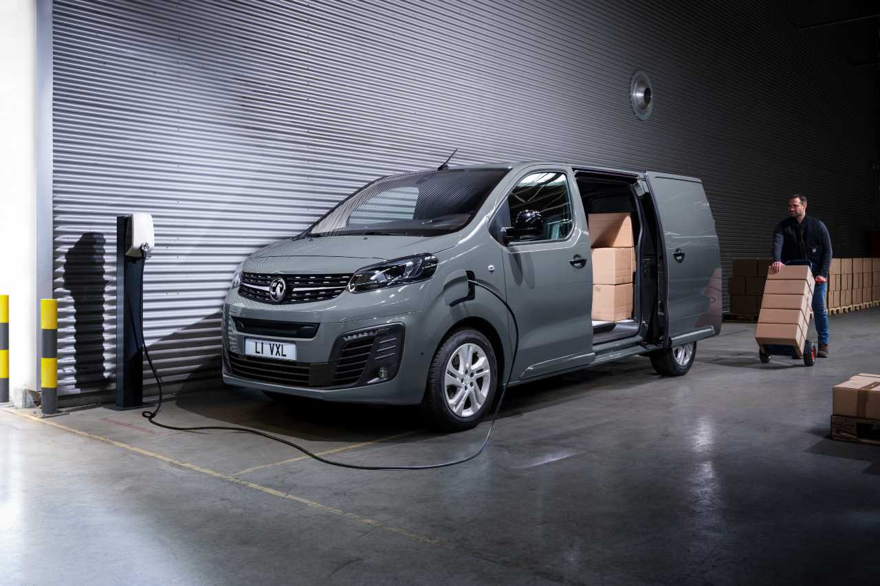 Vauxhall Vivaro e commercial vehicle