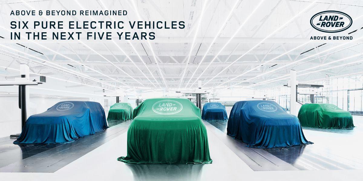 Land Rover EV Plans